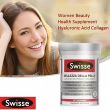 Swisse Bellezza Della Pelle Healthy Hair Nails Skin Gummies Hyaluronic Acid Collagen Tablets Women