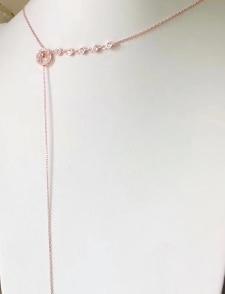 YTF1312 pendentif étoile pleine gemme collier saint-valentin oeil Zircon article rond femme