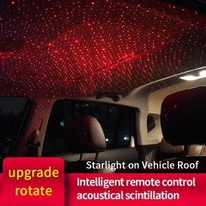 Атмосферный светильник на крышу автомобиля, ночник, USB, декоративная лампа для Honda Civic Accord CRV HRV, подходит для Jazz City odysley Jade Vezel