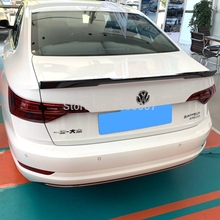 For VW Jetta 2019 ABS Material Car Rear Wing Primer Color Spoiler for Volkswagen New