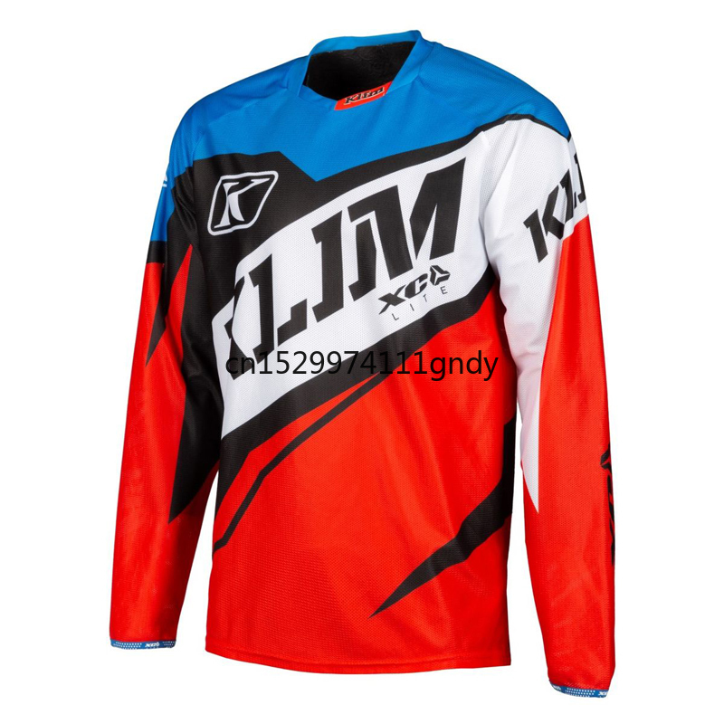 Motocross Jersey  2019 Men Summer Motorcycle Jersey Ropa Mtb Enduro Camiseta Motocross Mountain Bike Jersey Mx Downhill Shirt