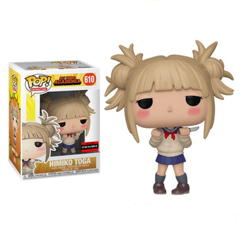 FUNKO POP My Hero Academia Himiko Toga 610# Action Figure Toys Anime Figure Vinyl Decoration Model Dolls for Kids Birthday Gifts 1