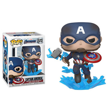 Funko Pop Marvel Avengers CAPTAIN AMERICA #573 Vinyl Figure Dolls Toys Marvel Action Figures 1