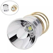 3,6 V 4,2 V LED Taschenlampe Birne Ersatz Aluminium Legierung Reflektor Tragbare Beleuchtung Zubehör Super Energiesparlampe