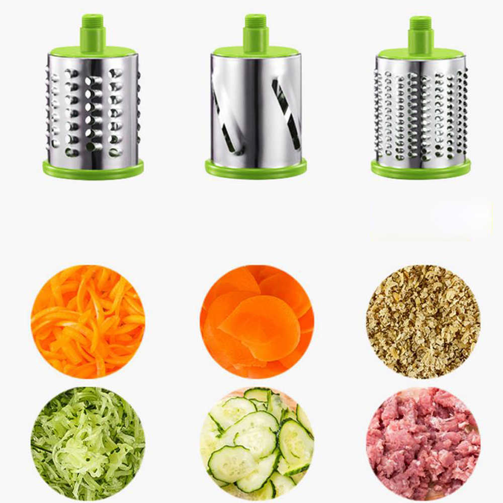 Gemüse Cutter Runde Slicer Kartoffel Karotte Käse Schredder Gemüse Chopper küche Roller Gadgets Werkzeug Lebensmittel Prozessor