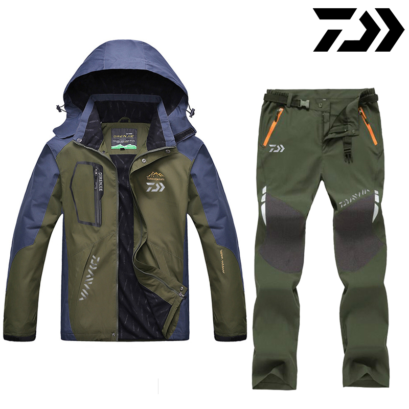 DAIWA Daiwa Fishing Clothes Outdoor Fishing Clothing Quick-drying Pants Men's Fishing Suit Breathable Sunscreen Fishing Jacket