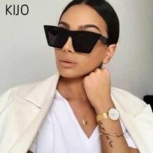 Square large frame fashion sunglasses female designer multicolor men and