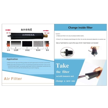 PCP filtr powietrza sprężarka Separator wody pod wysokim ciśnieniem 40Mpa pompa 300bar L5YE tanie i dobre opinie NONE as shown Other CN (pochodzenie) 40mpa 300bar 4500psi Standardowy Water-Oil Separator only Olej L5YE5AC800554