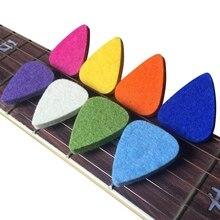 Медиаторы для укулеле войлочные медиаторы/Медиаторы для укулеле и гитары, 8 гитарных медиаторов, многоцветные