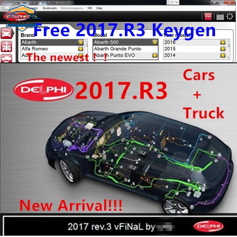 Новейшее программное обеспечение delicht 2017.R3, бесплатное программное обеспечение Keygen для delicht 150e Multidiag Vd Ds150e с бесплатным генератором ключей д...
