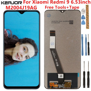 For Xiaomi Redmi 9 Lcd Screen Tested Lcd Display+Touch Screen Replacement For Xiaomi Redmi 9 M2004J19AG Black Screen 6.53inch