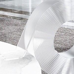 1/2/3/5m Reusable Double-Sided Adhesive Multipurpose Nano-Adhesive Tape No Trace Washed Magic Glue Loop Disks Tie Glue plakband(China)