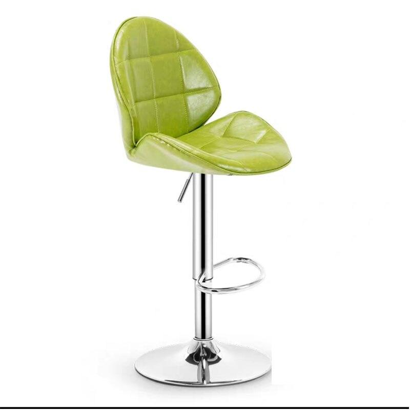 Bar Chair Modern Fashion Lifting Rotate Simple Creative Home Front Desk Bar Coffee Shop Leisure High Foot Chair