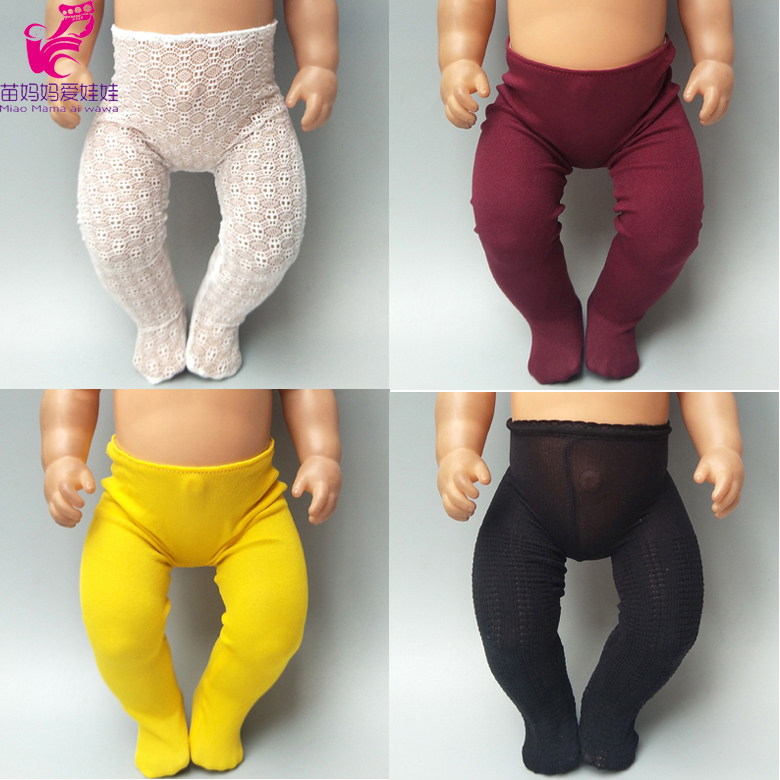 Doll Socks For 43cm Baby Doll Long Socks 18 Inch Doll Base Legging Doll Accessories