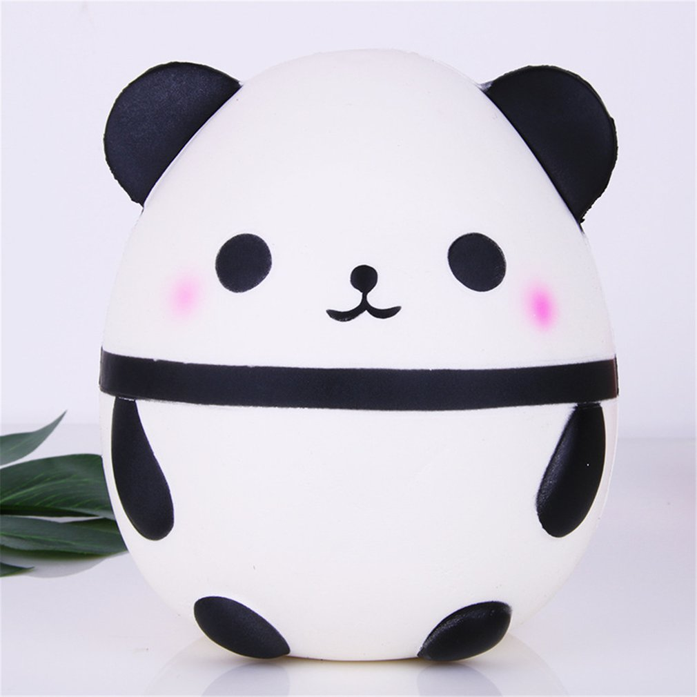 Anti-stress Squishy Simulation White Panda Slow Rebound Toys Funny Infant Squeeze Exquisite Collection Soft Toy Kids