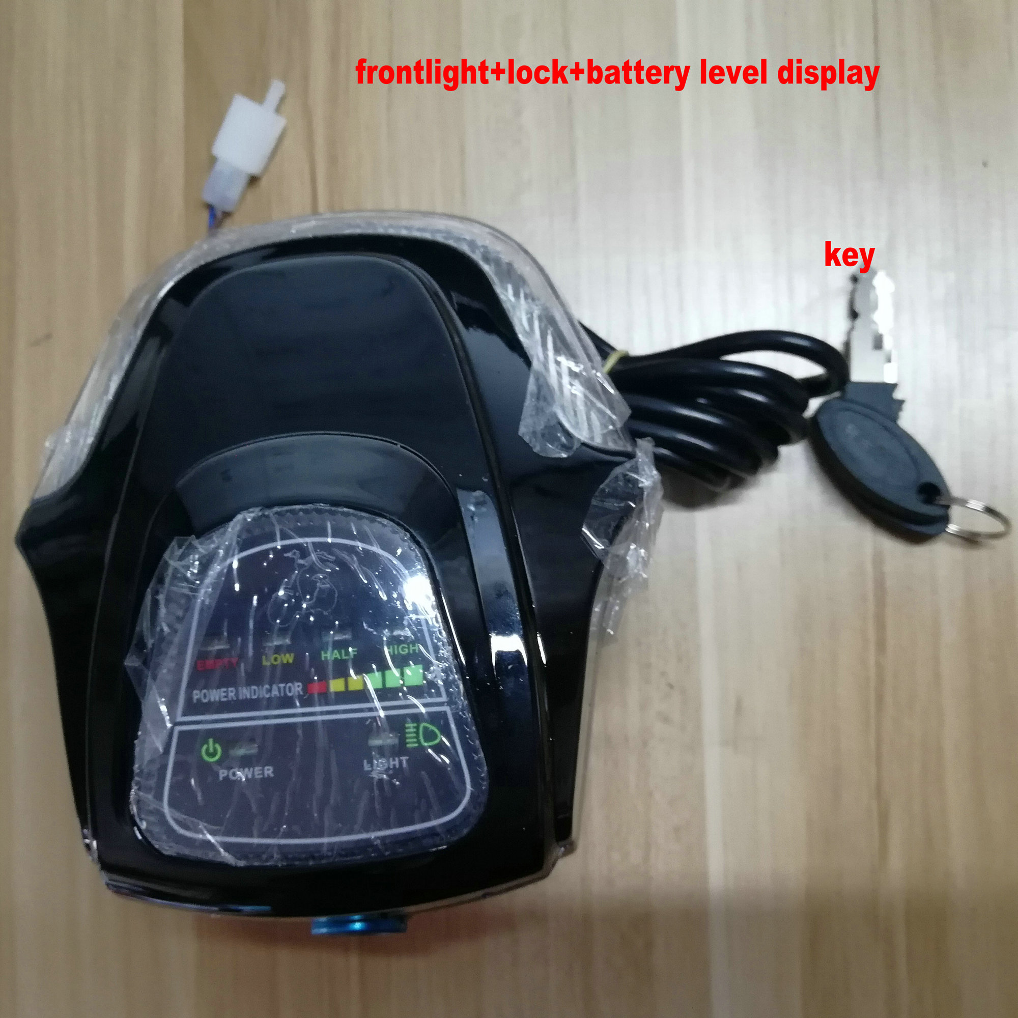 Sensible 60v/48v Battery Level/power Indicator+frontlight+bluetooth+lock/key For Electric Bike Tricycle Mtb Scooter Diy Part