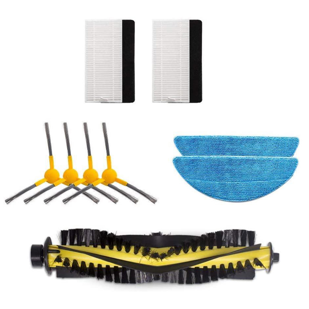 Filters Vacuum Cleaner Parts Mopping Parts Replacement Robotic Sweeper