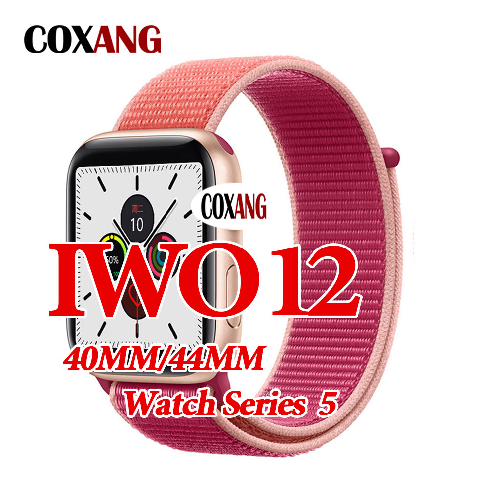 COXANG iwo <font><b>12</b></font> <font><b>Smart</b></font> <font><b>Watch</b></font> 44mm/40mm Men/Women series 5 Smartwatch iwo <font><b>12</b></font> Message Call Reminder <font><b>Smart</b></font> <font><b>Watches</b></font> For Apple Android image