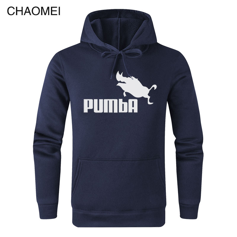 Funny Hoodies Homme Pumba Hoodie Men Women 2019 Long Sleeves Sweatshirt Cool Print Fashion Streetwear Hoody C91