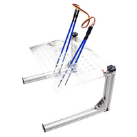 Car Frame Stand Works Programming Led Repair Bracket Aluminum Alloy Modified With Probe Pens Accessories Tool For Kess K TAG