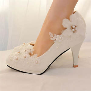 Bridal Low Heel Wedding Shoes