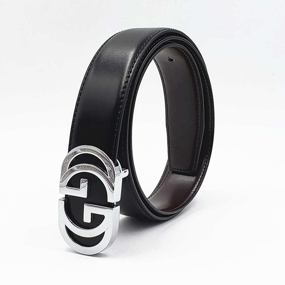 Luxury Vintage Designer GG Belt H Buckle Men High Quality Women Genuine Real Leather Dress Strap Double G Belt for Jeans