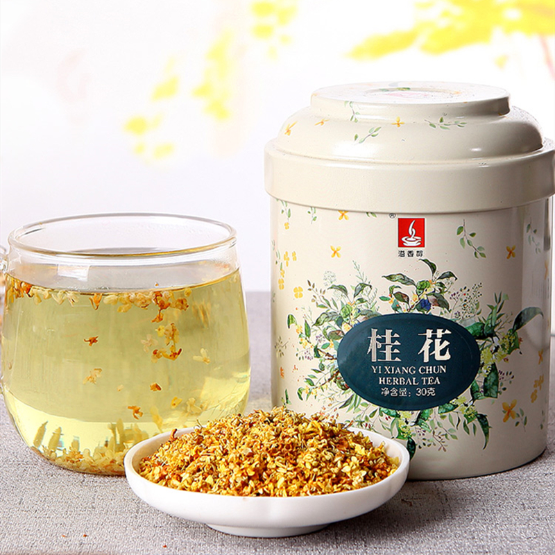 Edible Natural Dried Osmanthus Bud Osmanthus Fragrans Tea Canned