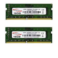 KAMOSES DDR4 RAM 2GB 4GB 8GB 16GB 32GB Stick 2133 de 2400 de 2666vMHz 288 PIN PC4 portátil universal de 17000, 19200, 2666V