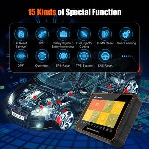 Image 4 - FOXWELL GT60 Scanner de Diagnostic automobile, outil de Diagnostic de voiture, système complet, ABS SRS EPB DPF, réinitialisation de lhuile, PK MK808, câble OBD2