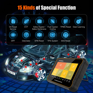 Image 4 - فوكسويل GT60 OBD2 السيارات الماسح الضوئي نظام كامل سيارة التشخيص ABS SRS EPB DPF النفط إعادة ODB2 ماسح ضوئي تشخيصي أداة PK MK808