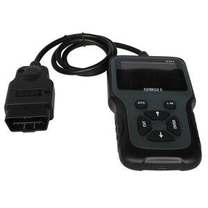 Image 4 - Leitor portátil durável do motor do carro das ferramentas diagnósticas do automóvel do obd 2 ii do varredor v311 de obd2 do display lcd da cor handheld