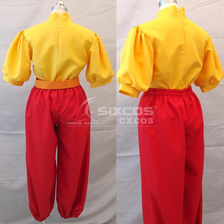 Movie Kasteel In De Hemel Sheeta Cosplay Kostuums Fashion Combat Uniform Pak Halloween/Party Rollenspel Kleding Custom elke - 3