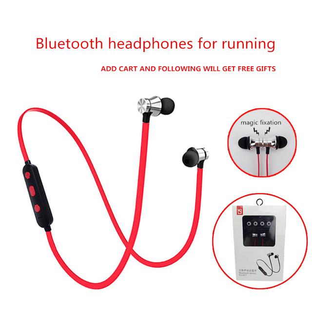 Sport Magnet Earphones Bluetooth 4.2 Waterproof In-ear