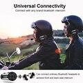 Fodsports V6 Plus 6 мотоциклистов шлем Bluetooth гарнитура Интерком 1200 м водонепроницаемый беспроводной интеркомуникадор интерфон FM