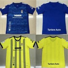 2020 2021 real oviedo ibra futbol camisa 20 21 r. FOLCH Y. Camisas de corrida masculinas bárcenas johannesson mossa javi muñoz