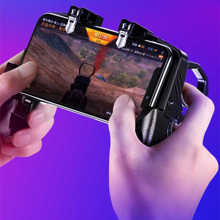 Мобильный игровой контроллер Pubg геймпад для Xiaomi Iphone samsung huawei игровой захват вентилятор L1r1 триггер Кнопка огня джойстик для игр