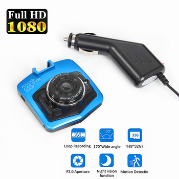 2.7LCD HD 1080P Dash Cam Video Recorder Night Vision Mini Camera DVR 70 Tachograph kamera mai dash cam pro yi mi image