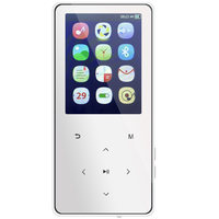 2.4'' 8GB MP4 Player Touch Mirror Screen Bluetooth HiFi Music E book Recorder With Bluetooth Sport Mp3 Mp4 Music Player