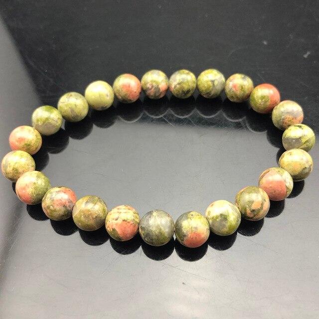 Ładna bransoletka z paciorkami Chakra mężczyzn 8mm z kamienia naturalnego lawa tygrysie oko matowy czarny onyks Healing koraliki Stretch urok joga kobiety biżuteria