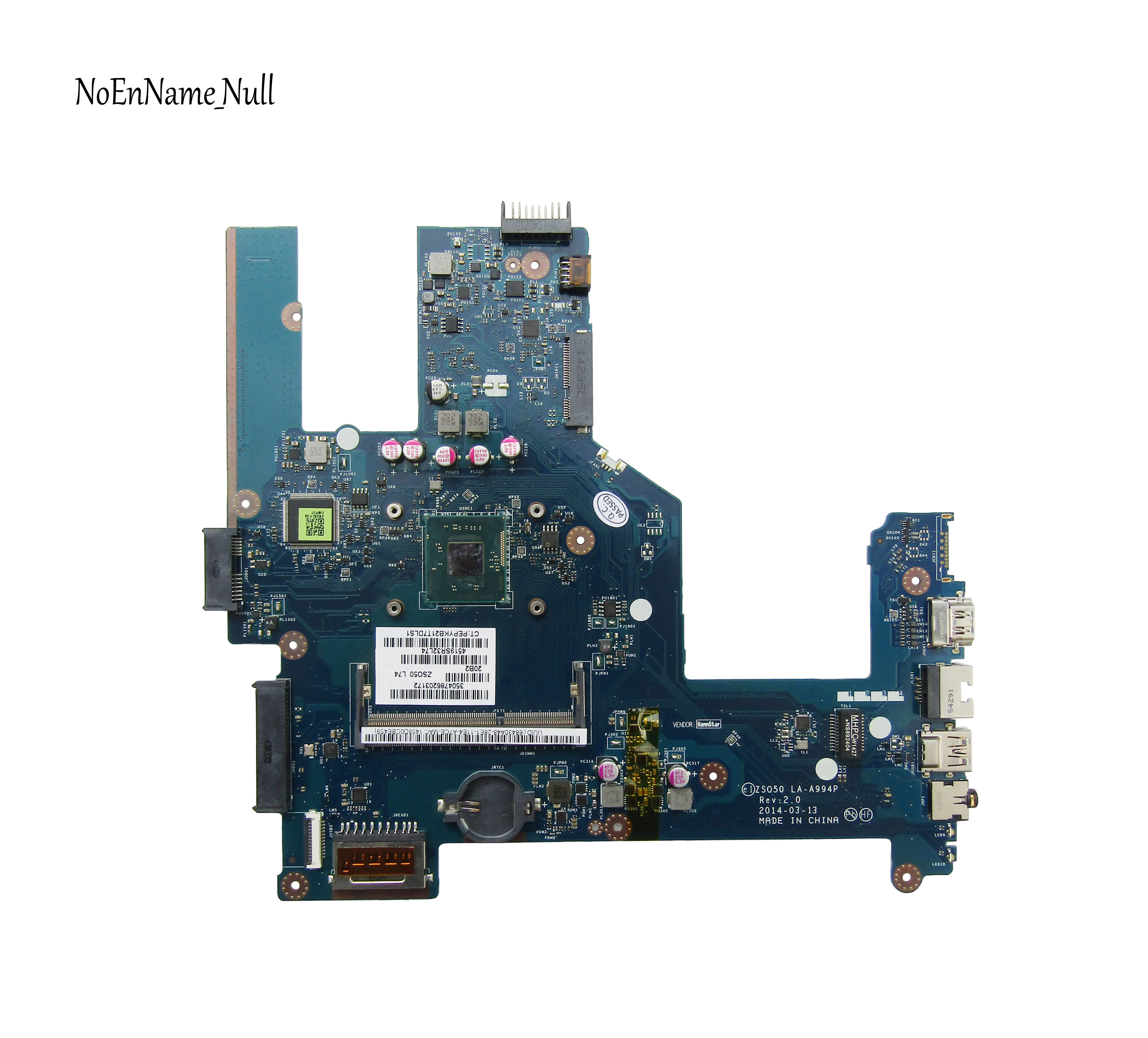 788289-601 788289-501 788289-001 Free Shipping For HP 15-R 15T-R Laptop Motherboard ZS050 LA-A994P N2840 CPU 100% Fully Tested