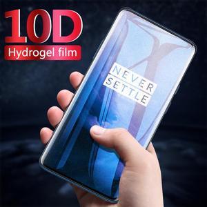 10D полное покрытие Гидрогелевая Защитная пленка для Oneplus 6 6T 5T 5 7 7Pro защита экрана на One Plus 6 Oneplus7 Pro не стекло