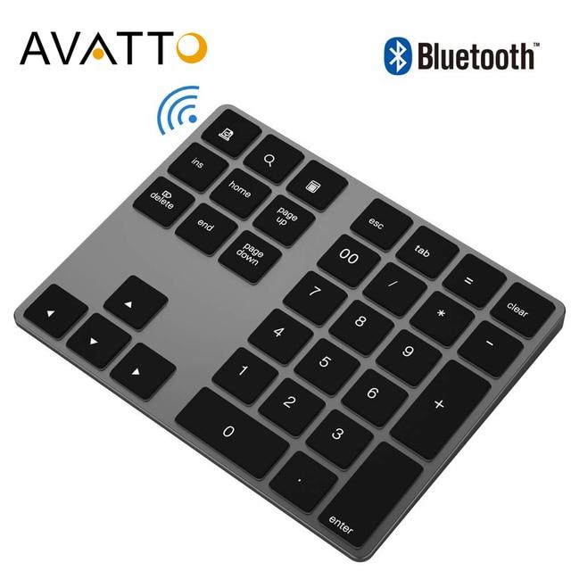 Avatto 34 keys Bluetooth Wireless Numeric Keypad 1