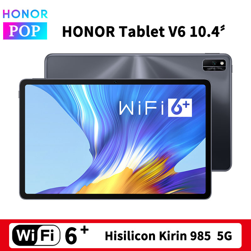 HUAWEI Honor Mediapad V6 10,4 inch Tablet PC 2K экран Kirin 985 Octa Core 5G Двойная модель HONOR планшет V6 10,4 Wi-Fi 6 +