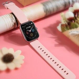 Image 5 - Full screen touch P8 Smart Watch  Wristband Men Women Sport More Watch Face Heart Rate Monitor Sleep Monitor IP67 Smartwatch