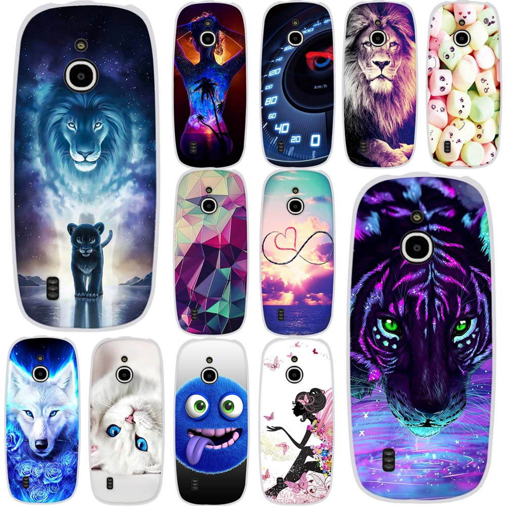 Phone Cover For <font><b>Nokia</b></font> <font><b>3310</b></font> <font><b>3G</b></font> 4G <font><b>Case</b></font> Silicone Soft TPU Protection Back Fundas For <font><b>Nokia</b></font> <font><b>3310</b></font> <font><b>3G</b></font> <font><b>Case</b></font> Animals Painting Patterned image