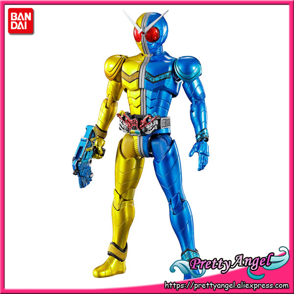 PrettyAngel ของแท้ BANDAI SPIRITS FIGURE RISE Standard Kamen Rider W Luna Trigger พลาสติกรุ่น Action FIGURE