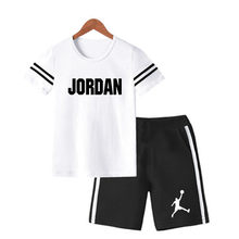2021 Summer Baby Boys Clothes Short Sleeve Print T-shirt+Shorts Children suit Casual Outfits Kids Clothes Sets