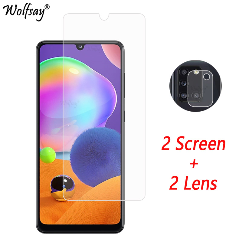 Camera Lens Protector For Samsung Galaxy A31 Screen Protector Tempered Glass For Galaxy A31 Camera Glass For Samsung A31 Glass