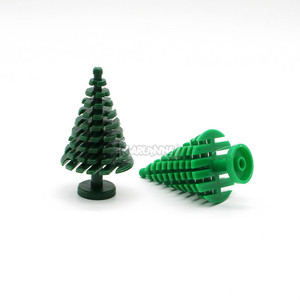 Image 4 - MARUMINE Spruce Tree Compatible 3471 City Stalk Grass Flower City Part Classic Bricks Construction Educational Toys