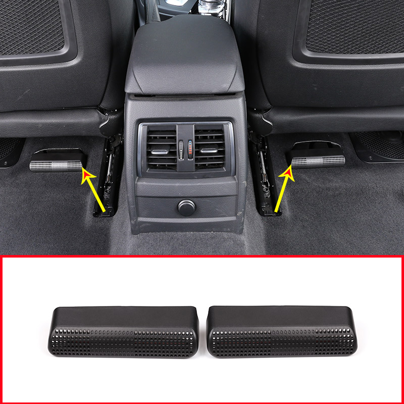 Duct Vent Outlet Floor Air Conditioner Outlet Under Trim Car Interior Accessories For BMW 3 4 Series GT F30 F34 316li320li 2013
